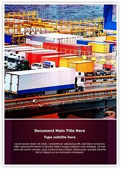 Cargo Trucking Editable Word Template