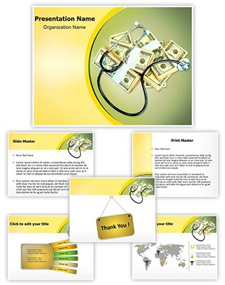 Health Insurance Editable PowerPoint Template