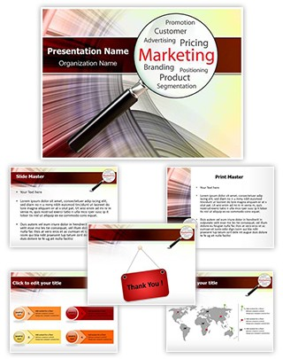 Marketing Concept Editable PowerPoint Template