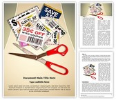 Savings Grocery Coupons Template