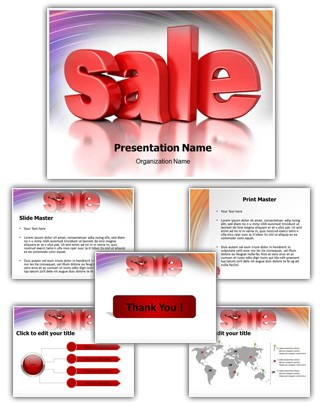 Sales Editable PowerPoint Template