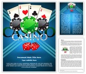 Cards Coins Casino Template