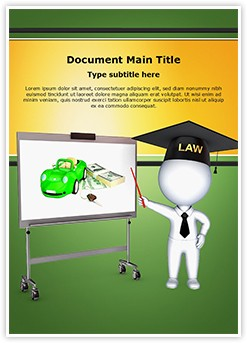 3D Insurance Lawyer Editable Word Template