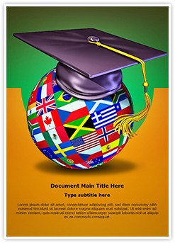 International Education Editable Word Template