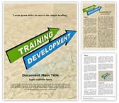 Training and Development Editable Word Template