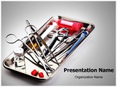 Surgery Instrument PowerPoint Templates