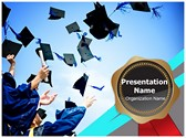 High School Graduation Editable PowerPoint Template