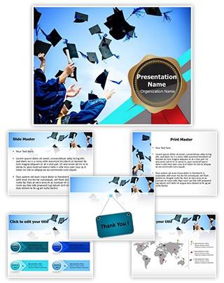 High School Graduation Editable PowerPoint Template
