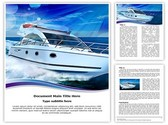 Powerboat Template