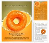 Yummy Donut Template