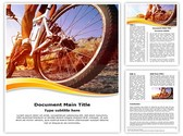 Cyclist Editable Word Template