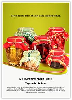 Jar Preserving Editable Word Template
