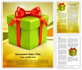 Christmas Gift Box Template