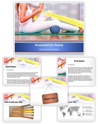 Physiotherapy Exercises Editable PowerPoint Template