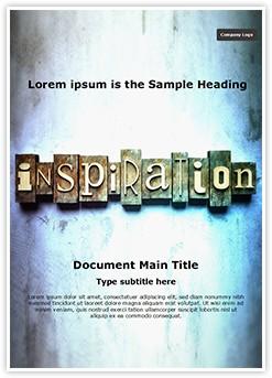 Inspirational Editable Word Template