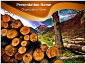 Deforestation Editable PowerPoint Template