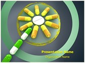 Homeopathic Pills Concept PowerPoint Templates