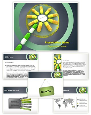 Homeopathic Pills Concept Editable PowerPoint Template