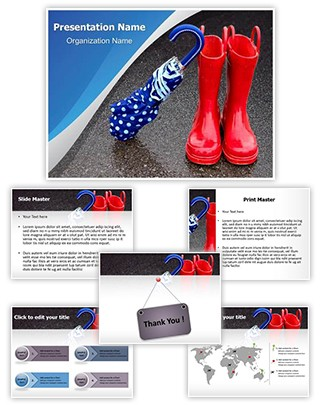 Rainy Season Editable PowerPoint Template