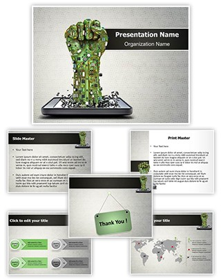 Technological Revolution Editable PowerPoint Template