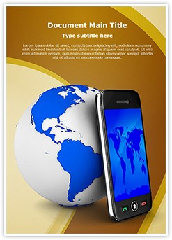 GPRS Editable Word Template