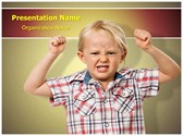 Child Oppositional Defiant Disorder PowerPoint Templates