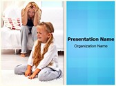 Frustrated Parenting PowerPoint Templates