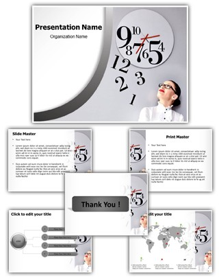 Time Management Editable PowerPoint Template