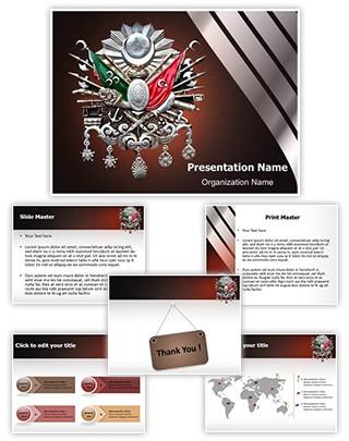 Ottoman Empire History Editable PowerPoint Template