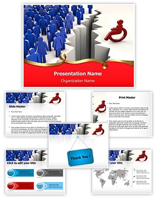 Disability Discrimination Editable PowerPoint Template