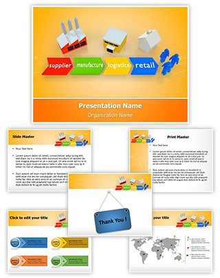 Supply Chain Management Editable PowerPoint Template