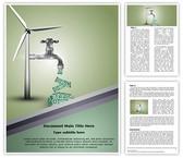 Save Energy Save Money Template