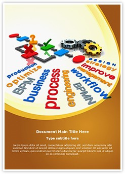 Business Process Editable Word Template