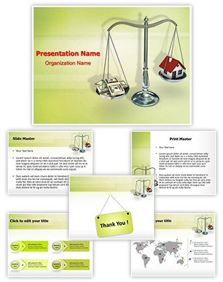 Mortgage Loan Editable PowerPoint Template
