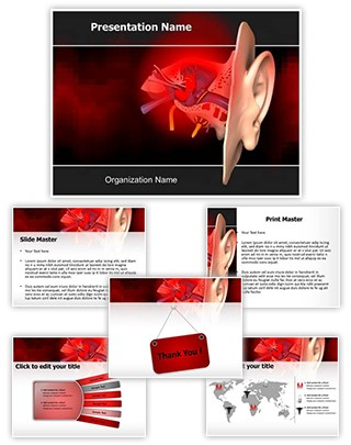 Acute Otitis Editable PowerPoint Template