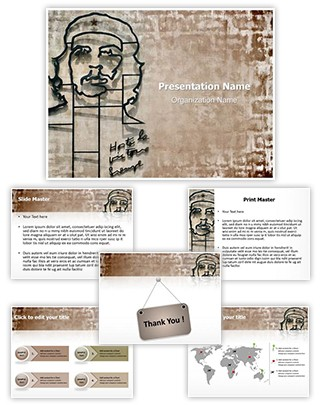 Che Guevara Editable PowerPoint Template