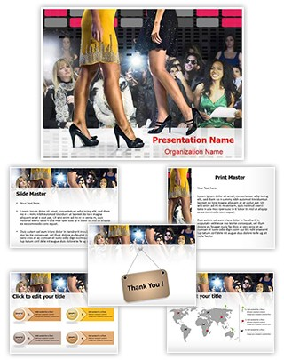 Fashion Show Editable PowerPoint Template