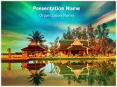 Holiday Resort Editable PowerPoint Template