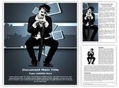 Charlie Chaplin Editable Word Template