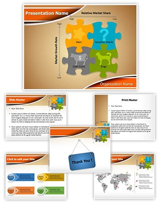 BCG Matrix Editable PowerPoint Template