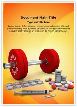 Doping Editable Word Template