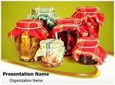 Jar Preserving Editable PowerPoint Template