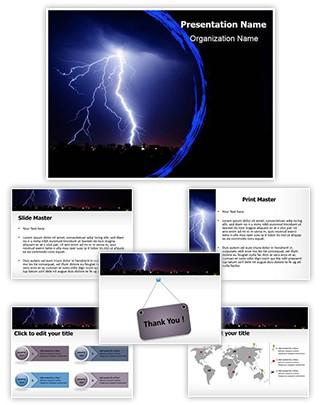 Lightning Editable PowerPoint Template