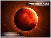 Planet Mars Editable PowerPoint Template