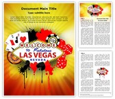 Las Vegas Casino Editable Word Template
