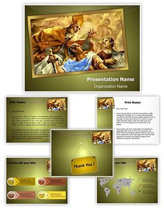 Professional renaissance editable powerpoint template renaissance editable powerpoint template toneelgroepblik Images