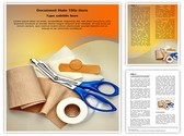 Bandaging Taping Template