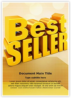 Best Seller Editable Word Template
