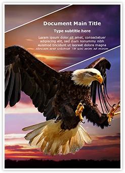 Eagle Flight Editable Word Template