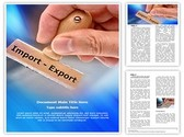 Export Import Template